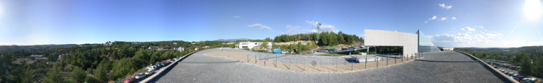Panoramic view of CICA